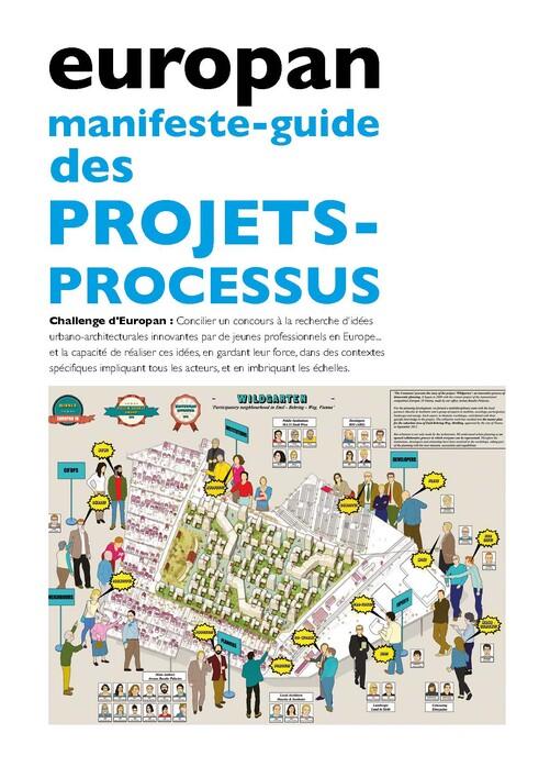 Europan Manifeste-Guide des Projets Processus