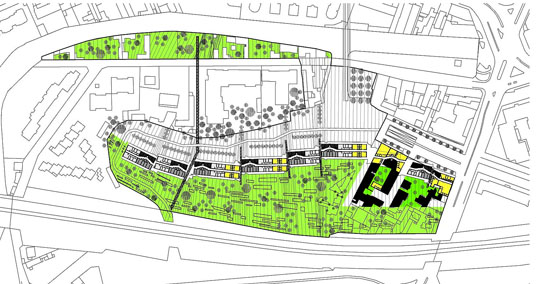 Europan europe projets th matis s for Les espaces publics urbains
