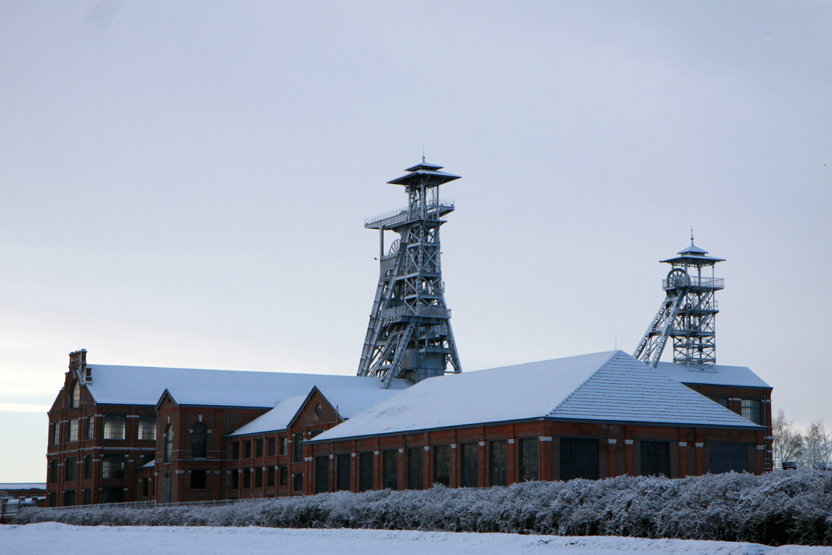 The Arenberg mining center in Wallers